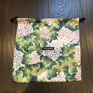D&G limited edition collection dust bag